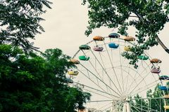 Bg roundabout in the sky Royalty Free Stock Photography