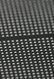 BGA balls background. The reverse side of an BGA chips Stock Photography