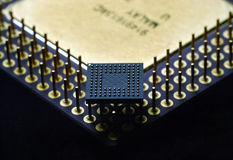 BGA Processor Stock Image