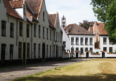 Béguinage in Bruges Royalty Free Stock Photography
