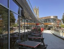 BH2 κέντρο Dorset UK του Bournemouth Στοκ Φωτογραφία