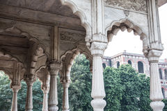Bhadon Pavilion in Hayat Baksh Bagh Royalty Free Stock Images