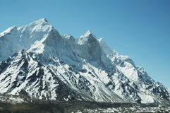 Bhagirathi peak Stock Photography