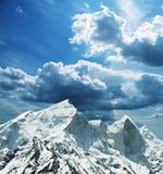 Bhagirathi peak Royalty Free Stock Image