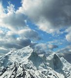 Bhagirathi peak in Himalayan Royalty Free Stock Photography