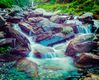 Bhagsu waterfall. Bhagsu, Himachal Pradesh, India Royalty Free Stock Photo