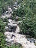 Bhagsu waterfalls dharamsala himachal Pradesh Stock Photo