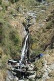 Bhagsunag waterfall at Dharamsala Stock Photos