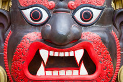 Bhairab Mask from Nepal Royalty Free Stock Images