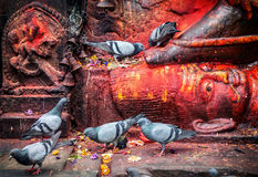 Bhairab statue in Nepal Royalty Free Stock Image