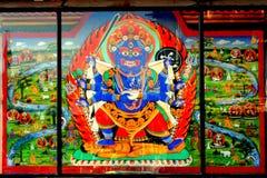 Bhairav Arkivbild