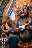 Bhairav Hindu God Stock Photos