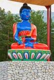 Bhaisajyaguru Bouddha de la guérison et de la médecine photo stock