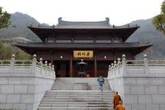 Bhaisajyaguru buddha slott av dacichansitemplet, Adobe rgb Arkivfoto