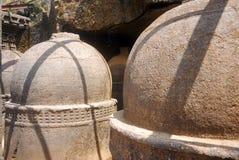 bhaja洞印度马哈拉施特拉邦寺庙 免版税库存图片