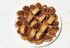 Bhakarwad. I: traditional Maharashtra dish made on the occasion of a festival royalty free stock photos