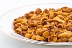 Bhakharwadi food Stock Images