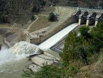 Bhakra dam near Mandi Stock Photo
