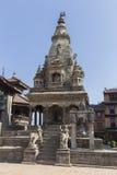 Bhaktapur's Durbar广场 免版税库存图片
