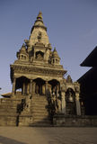 bhaktapur尼泊尔寺庙 库存照片
