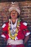 bhaktapur尼泊尔nevaris教士 免版税库存图片