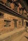bhaktapur皇家尼泊尔的宫殿 免版税库存图片