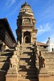 bhaktapur świątynie durbar hinduskie kwadratowe Fotografia Royalty Free