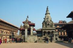bhaktapur ιερή πόλη οδών του Νεπάλ ζ Στοκ φωτογραφία με δικαίωμα ελεύθερης χρήσης