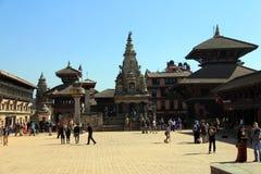 Bhaktapur - πλατεία 5 Durbar Στοκ Εικόνες