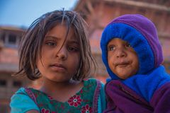 bhaktapur Непал Стоковая Фотография