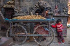 bhaktapur Непал Стоковые Фотографии RF