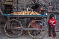 bhaktapur Непал Стоковые Изображения