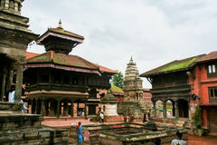 Bhaktapur, Непал стоковые фото