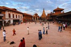 Bhaktapur, Непал Стоковое Изображение RF