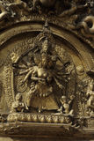 bhaktapur brama złoty Nepal Obraz Royalty Free
