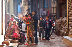 Bhaktapur - colourfull town Royalty Free Stock Photo