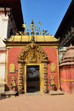 Bhaktapur Durbar广场是古老Newar市 免版税库存图片