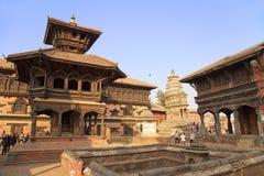 bhaktapur durbar πλατεία του Νεπάλ στοκ φωτογραφία με δικαίωμα ελεύθερης χρήσης