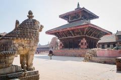 bhaktapur durbar τετράγωνο Στοκ εικόνα με δικαίωμα ελεύθερης χρήσης