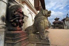 Bhaktapur Durbar fyrkantiga Nepal Royaltyfri Bild