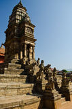 bhaktapur durbar patan πλατεία του Νεπάλ Στοκ Εικόνες
