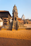 Bhaktapur Durbar Siddhi Laxmi Temple Morning Royalty Free Stock Images