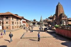 Bhaktapur Durbar Square Stock Image