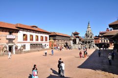 Bhaktapur Durbar Square Royalty Free Stock Photography