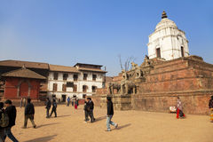 Bhaktapur Durbar Square, Nepal Royalty Free Stock Photos