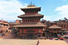 Bhaktapur Durbar Square,Nepal Royalty Free Stock Photography