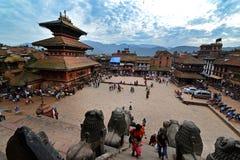 Bhaktapur Durbar square, Nepal Stock Photos