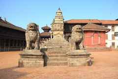 Bhaktapur Durbar Square, Nepal. Stock Photo