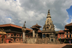 Bhaktapur durbar square in nepal Royalty Free Stock Images