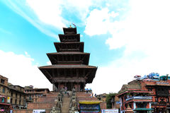 Bhaktapur durbar square in nepal Stock Photos